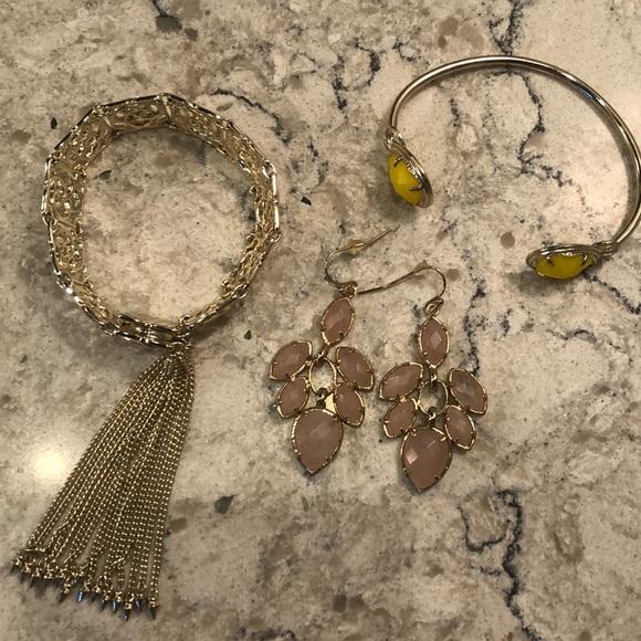 Kendra Scott Jewelry Bundle Earrings Bracelets